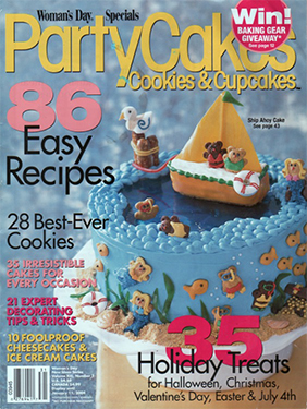 Cover of Women's Day: Party Cakes, Jan 2004 magazine